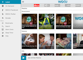 Screenshot of WGCU Public Media App