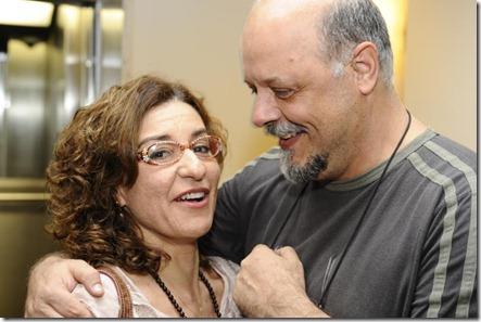 Patrícia Gasppar e Roney Facchini