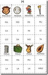 jogo das sílabas M