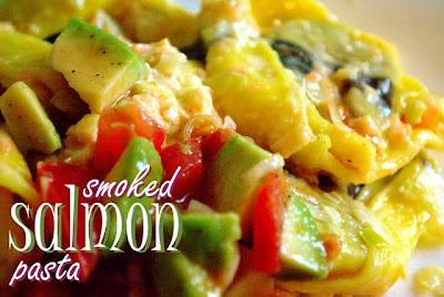 Blissfully Unrefined: Recipe: Smoked Salmon & Leek Cream Sauce