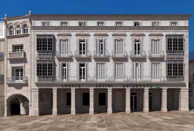 Centro Social Caixanova en Compostela