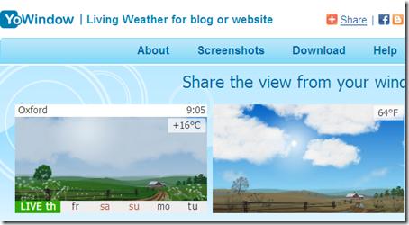 come mettere gadget meteo previsioni tempo blog blogger