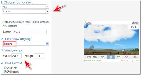 come avere previsioni meteo tempo reale blog blogger
