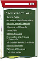 The green box in the upper-right corner of the home page