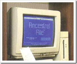 Ancestral File, DOS Version