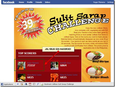 FireShot capture #1 - 'Facebook I Jollibee Sulit Sarap Challenge' - apps_facebook_com_jollibeegameapp_topScorers_php