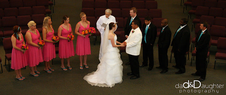 Marisa and Allen Wedding Dad and Daughter Photography