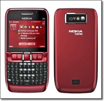 nokia e63 Nokia E63 firmware was updated to v500.21.009