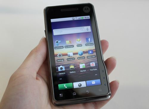 Milestone XT720 Motorola announced the device XT720 Droid / Milestone without a keyboard