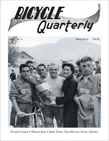 "Bicycle Quarterly ""The Discerning Cyclist's Resource"" –  cycling history, randonneur and touring bikes - expertly researched."