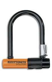 "Kryptonite Mini - $100 - The messenger's choice world wide. Small size (3.25"" x 5""). Fits in a back pocket, harder to lever open."
