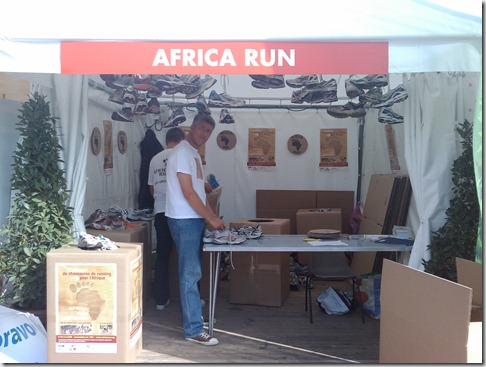 Le stand Africa Run