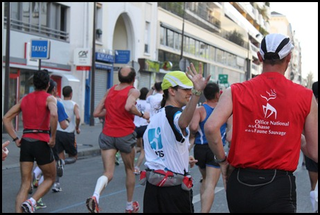 Runmygeek : Marathon de Paris 2011