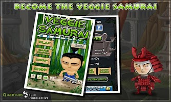 Screenshot of Veggie Samurai: Uprising