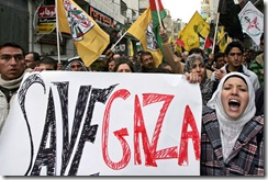 MIDEAST-PALESTINIAN--ISRAEL-GAZA-CONFLICT-DEMO