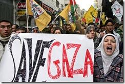 MIDEAST-PALESTINIAN--ISRAEL-GAZA-CONFLICT-DEMO
