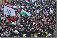 TURKEY-ISTANBUL-PALESTINIAN-ISRAEL-GAZA-CONFLICT-DEMO