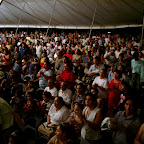 Nicaragua Crusade Ciudad Sandino  thousands standing in the back of tent.jpg