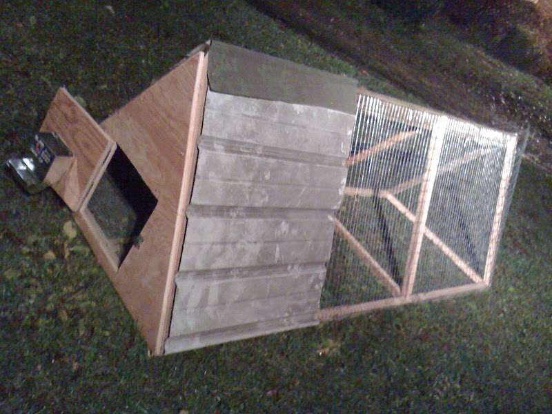 A Simple and Easy to Build Rabbit Hutch