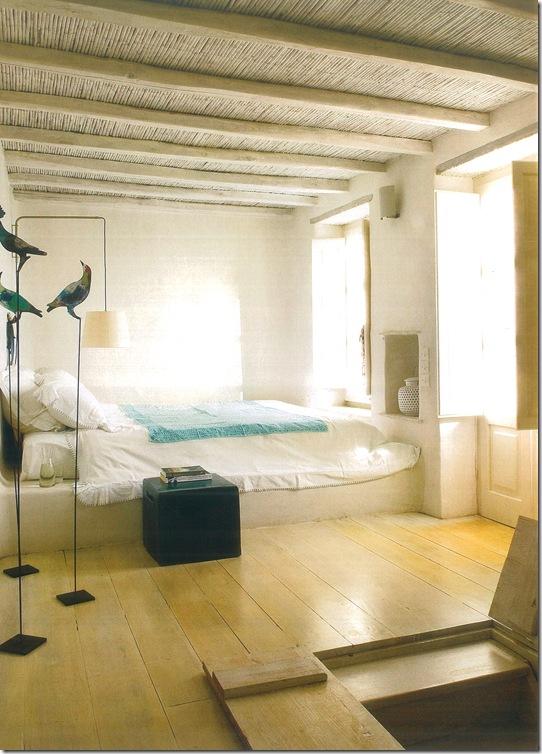 Casa de Valentina - via revista Côte Sud - quarto