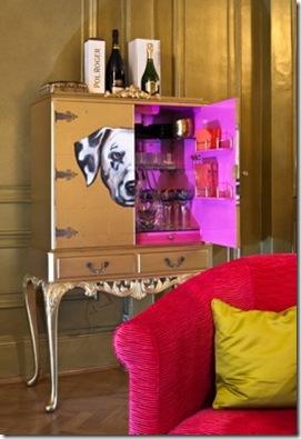 Casa de Valentina - via ShootFactory - 2 estilos na mesma casa em Londres - bar