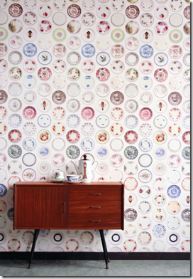 Casa de Valentina - via Hello Tiger - Studio Ditte - porcelain wallpaper 2
