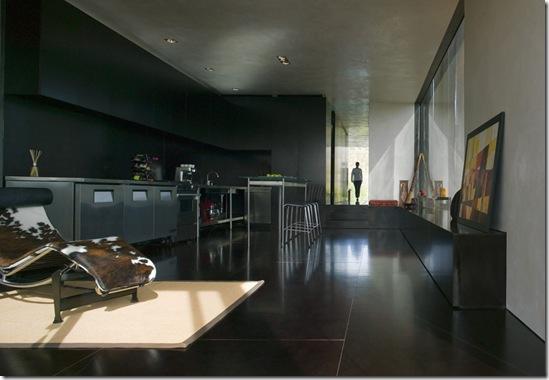 Casa de Valentina - via Black Studio - cozinha integrada