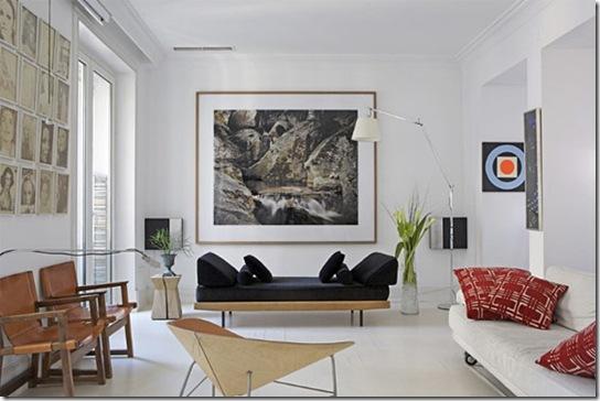 Casa de Valentina - via Plastolux - quadro e móvel baixo