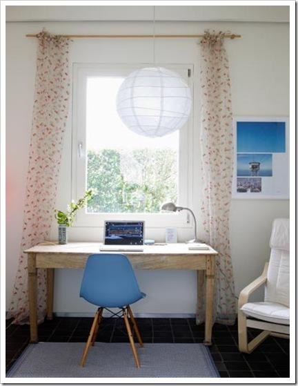 Casa de Valentina - via scandinavia retret - escrivaninha calma e tranquila