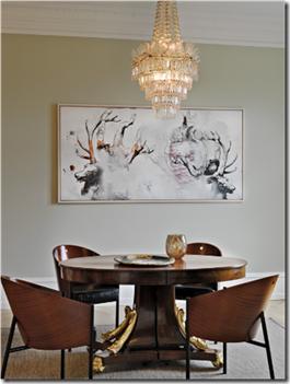 Casa de Valentina - Via Stuart Mcintyre - sala de jantar
