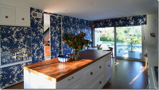 Casa de Valentina - cozinha azul