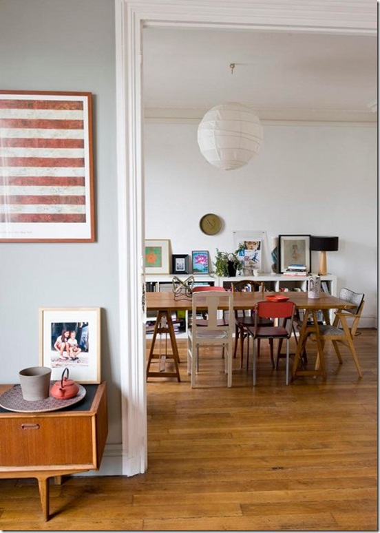 Casa de Valentina - Via Design Sponge - diferentes cadeiras