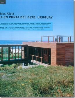 Casa de valentina - uma casa no Uruguai - vista geral