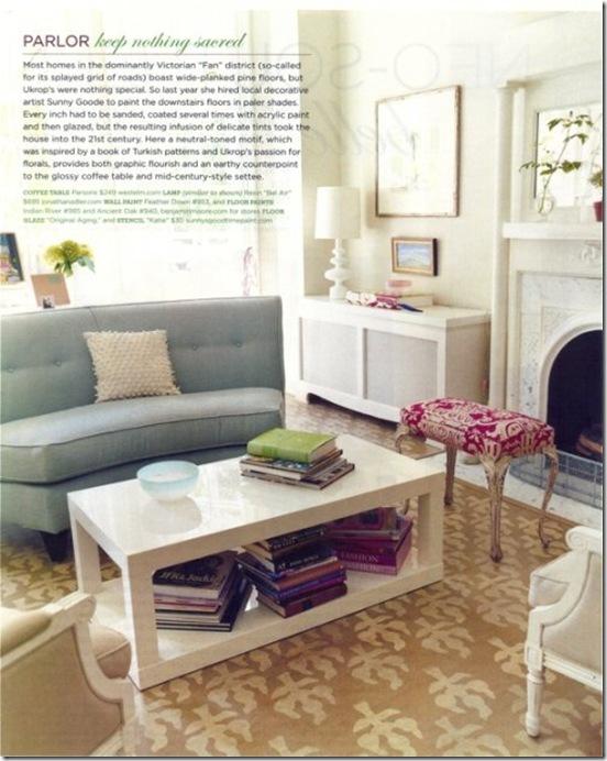 Casa de Valentina - via Coco   Kelly - sofá diferente para sala e estar