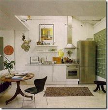 Comprar móveis - via Elle Decor - cozinha aberta para sala