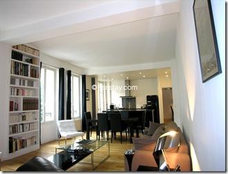 Apartamento masculino em Paris