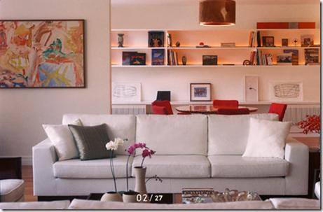 Sala de estar. Projeto Carmen Marise