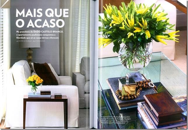 Vogue casa - flores amarelas