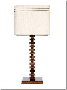 Luminária de mesa Jacarandá