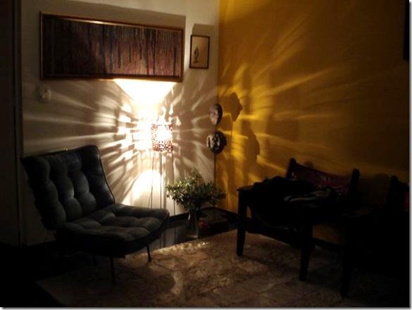 Sombras na parede