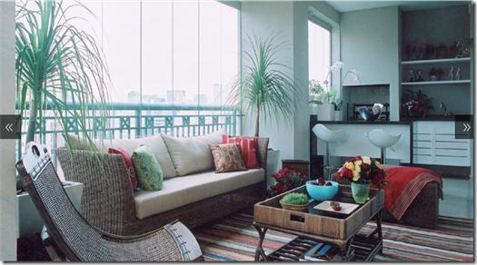 Casa de Valentina - Alice Martins e Flávio Butti - varanda apartamento