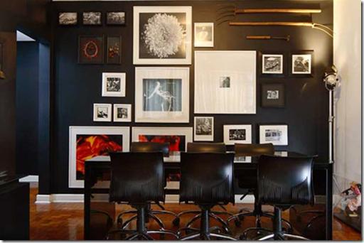 Casa de Valentina - Conrado Heck e Rodrigo Briareu - quadros na parede