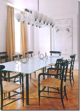 Casa de Valentina - uma casa ilatiana em Manhattan - foto de Manolo Yllera - sala de jantar