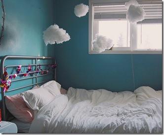 Casa de Valentina - via Sweet Home Style - nuvens de algodão