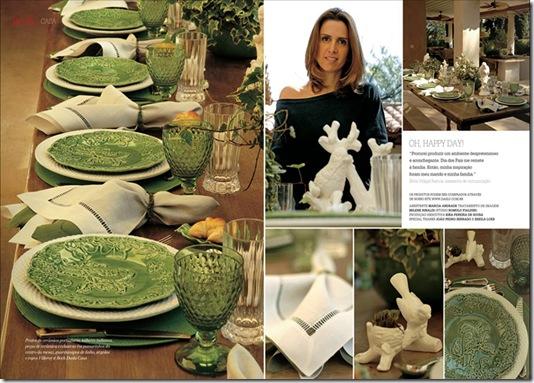 Casa de Valentina - Revista Daslu - mesa tropical