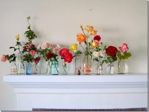Casa de Valentina - via Design Sponge - flores