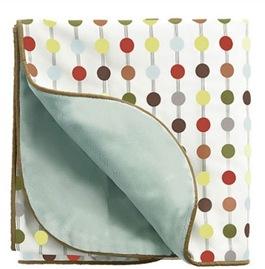 Mod Dot Nursery Blanket
