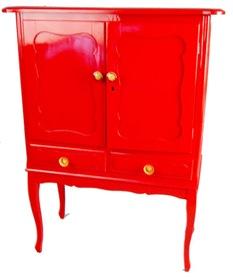 Casa de valentina - Estúdio Glória - bar vermelho cheguei