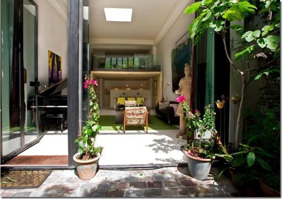 Casa de Valentina - vista do jardim