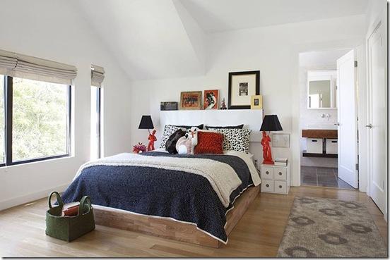 Casa de Valentina - Feldman Architecture - uma casa de 1960 em San Francisco - quarto do casal